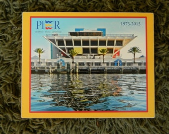 St. Pete Pier sign - photo on wood