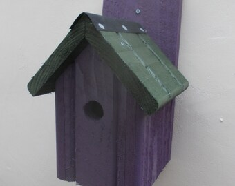 The 'Classic' Bird Nesting Box - Henry's Bird Boxes, Handmade in Wales
