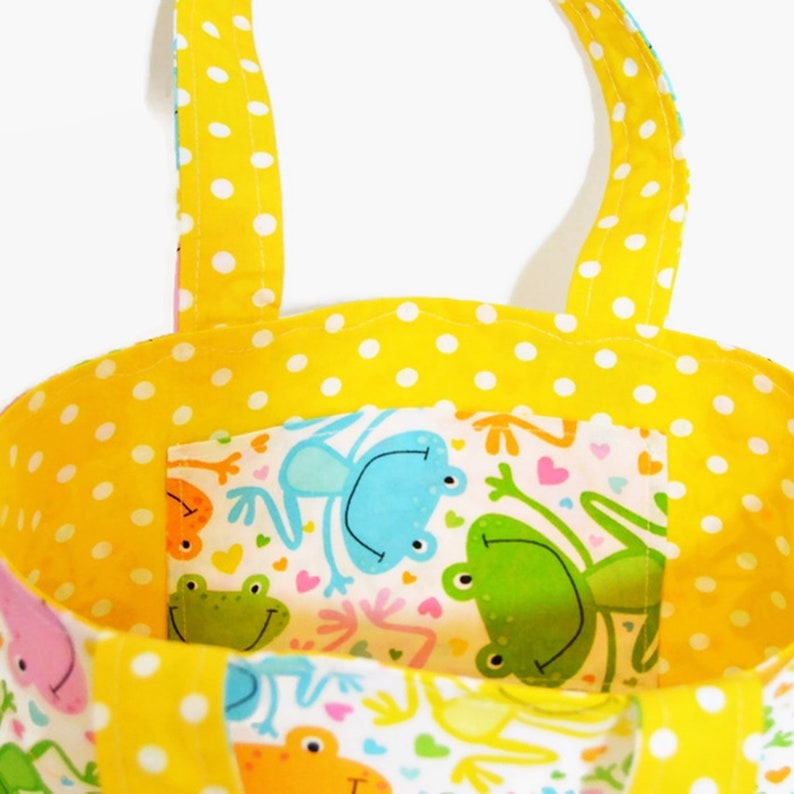 holidays Little Frogs Children/'s bag school for shopping walks