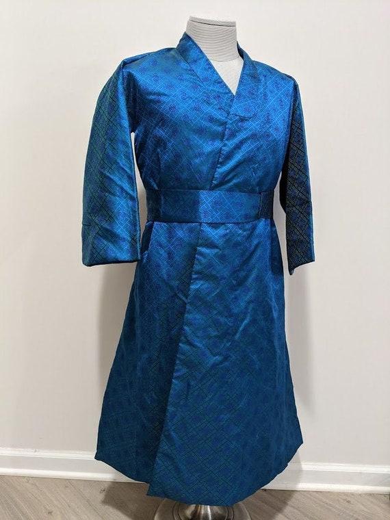 Vintage Korean Men's Jeogori Robe Korean Robe Trad