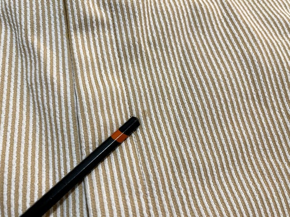 Vintage 1970's Men's Striped Trousers Striped Pan… - image 8