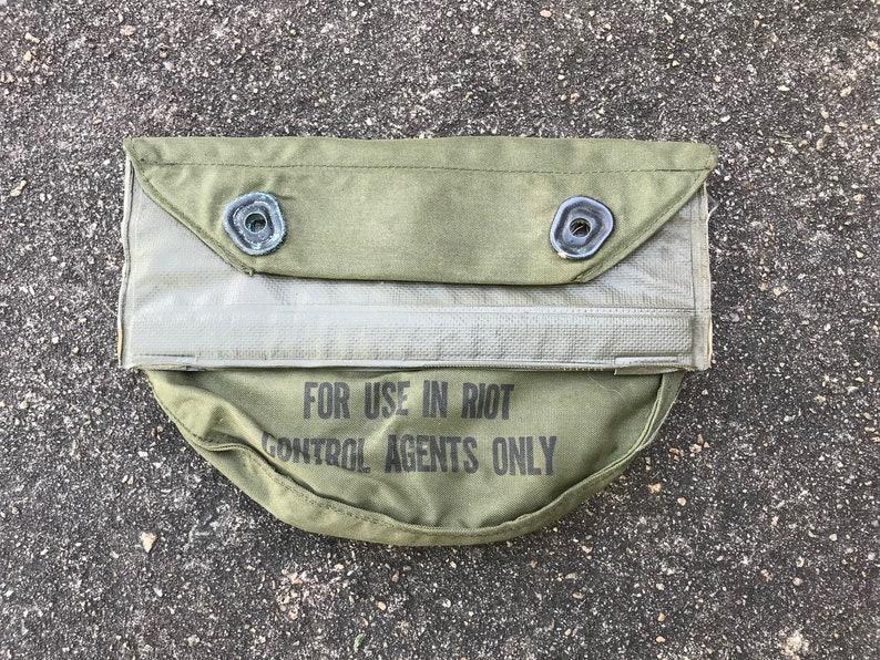 73992372376 Vietnam War US Military Army Marines XM28 Gas Mask Bag