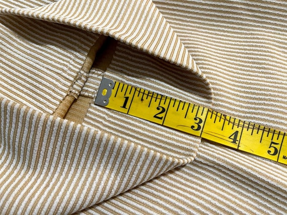 Vintage 1970's Men's Striped Trousers Striped Pan… - image 7