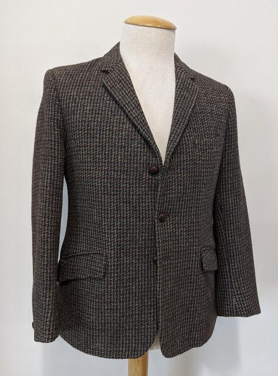 Vintage 1950's 50's Men's Harris Tweed Suit Jacket