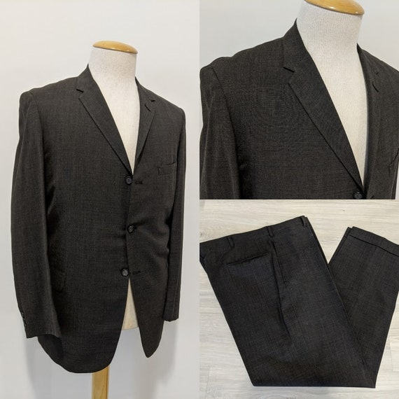Vintage 1950's Men's Two-Piece Suit 50's Suit 1950