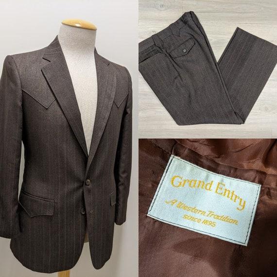 Vintage 1970's Men's Suit Western Suit Cowboy Suit