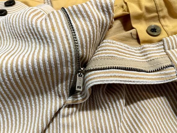 Vintage 1970's Men's Striped Trousers Striped Pan… - image 6