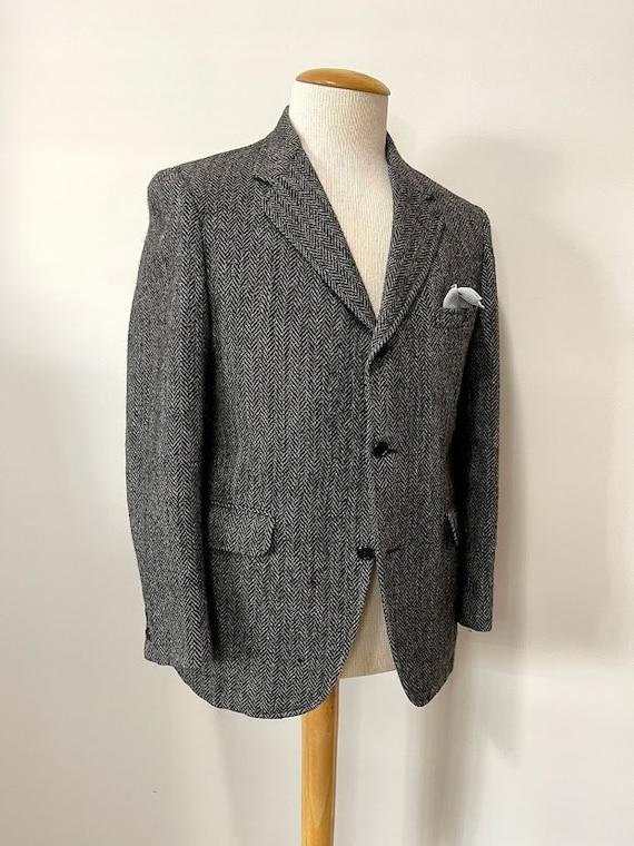 Vintage 1970's Does 30's Men's Wool Suit Jacket He