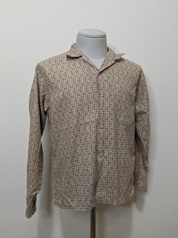Vintage 1950's Men's Work Shirt Vintage Workwear W