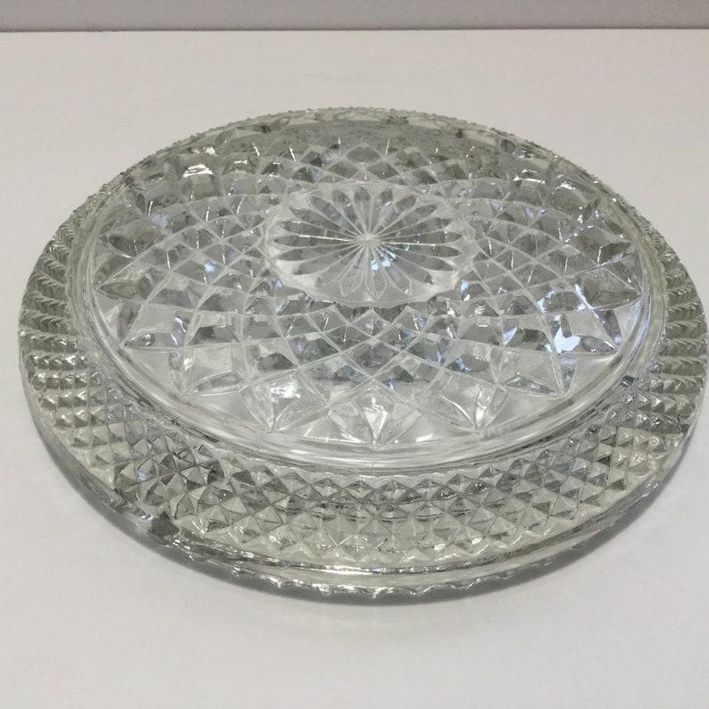 Vintage USA Wexford Ashtray Large Glass Ashtray Barware Partyware Collectible Tobacciana