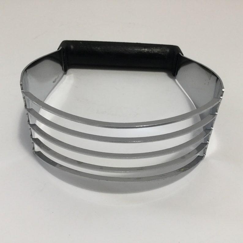 Ekco USA Chromium Plated Dough Blender With Black Bakelite Handle Kitchen Gadgets  Baking Cooking Kitchen Gadget Pastry Making
