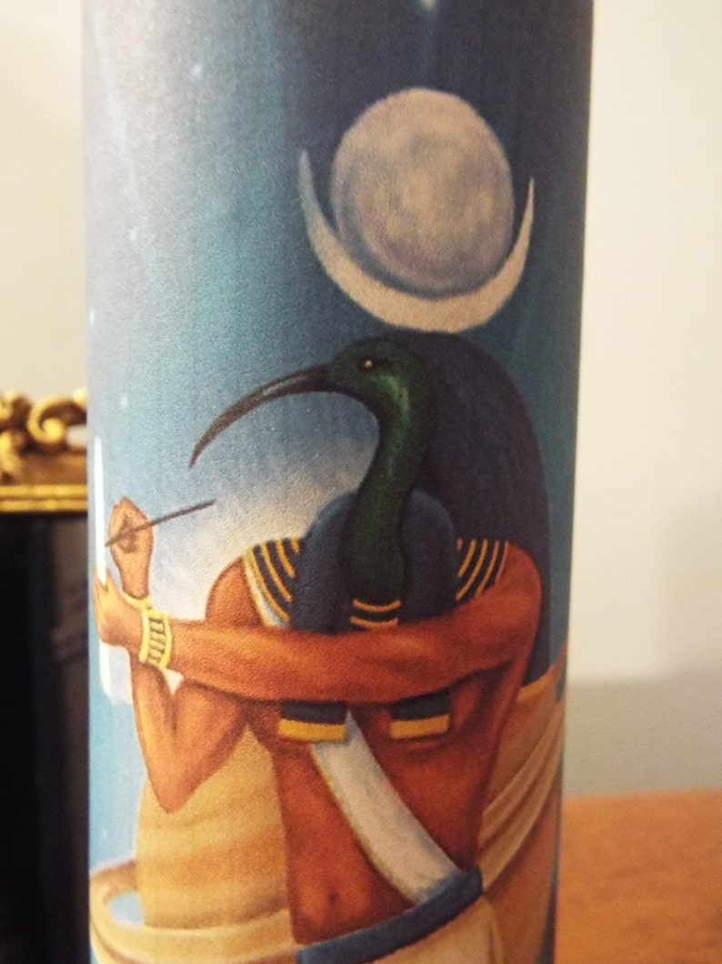 Thoth 7 Day Candle for help in Studies