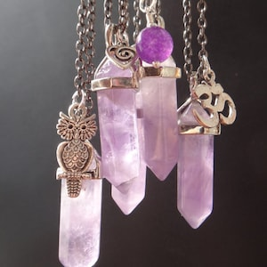 Healing Fluorite Health and energy Reiki pendant. Fluorite Crystal necklace Chakra necklace Layering collar Crystal point necklace