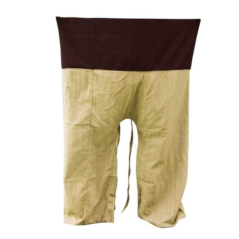 5cd8156593 2 TONE Thai Fisherman Pants Yoga Trousers FREE SIZE Plus Size | Etsy