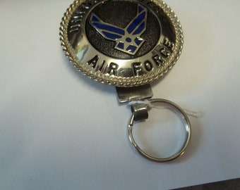 7 MORE MILITARY THEME Key Rings made by Wilson Metal Companty