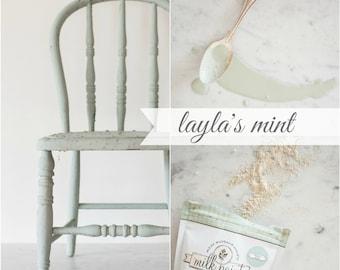 Miss Mustard Seed Milk Paint Laylas Green