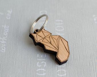 Fox geometric Keychain f3a221ac49