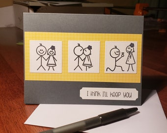 I'll keep you card