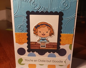 Classic character birthday card