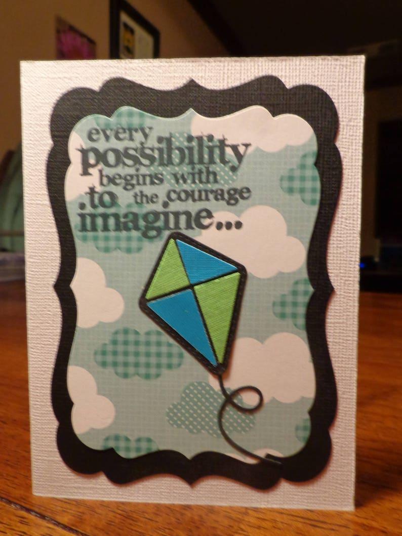 courage to imagine card
