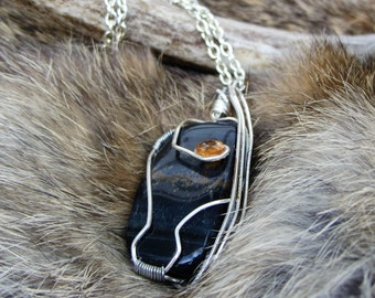 Bice Tigerseye with Citrine