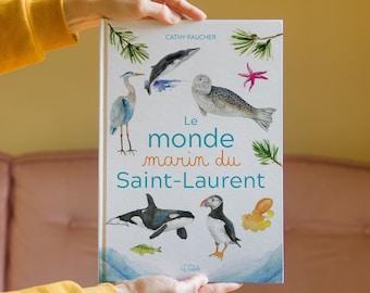 Livre Le monde marin du Saint-Laurent
