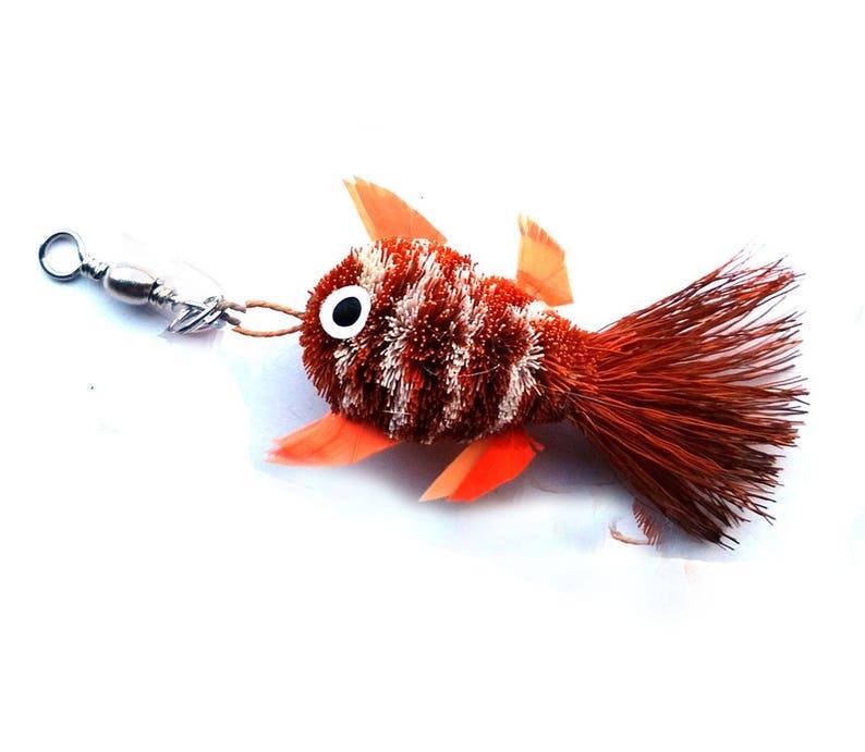 Clownfish Keychain Charm Fish Keychain charms
