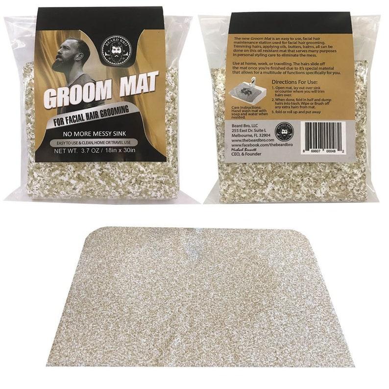 Easy Slide Mat Groom Mat No More Messy Sink with Waterproof