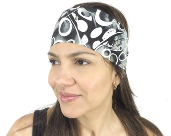 Fitness Headband Workout Headband Nonslip Yoga Headband Hair Accessories Running Fashion Headband Spandex Printed Hair Wrap Headband S41