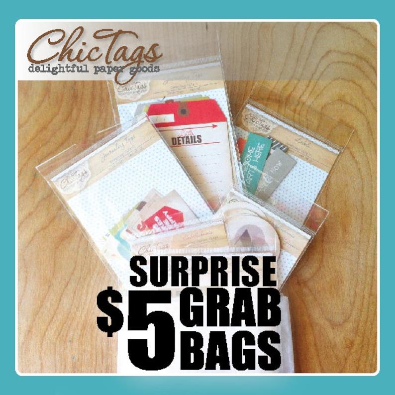 Paper Tags Grab Bags image 0