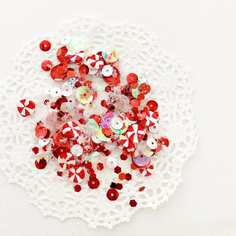 Peppermint sequins mix image 0