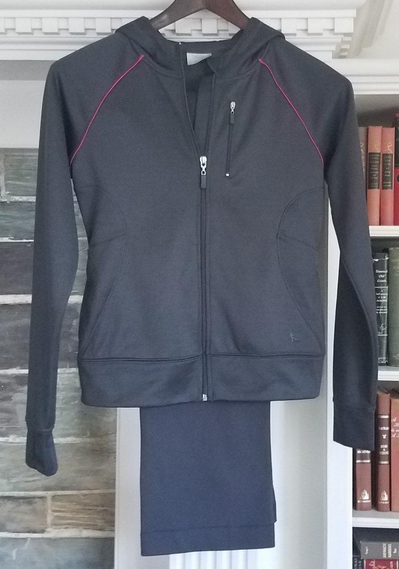 942c9da351e3b New DANSKIN NOW Hooded Sweatsuit Tracksuit Sport Jogging