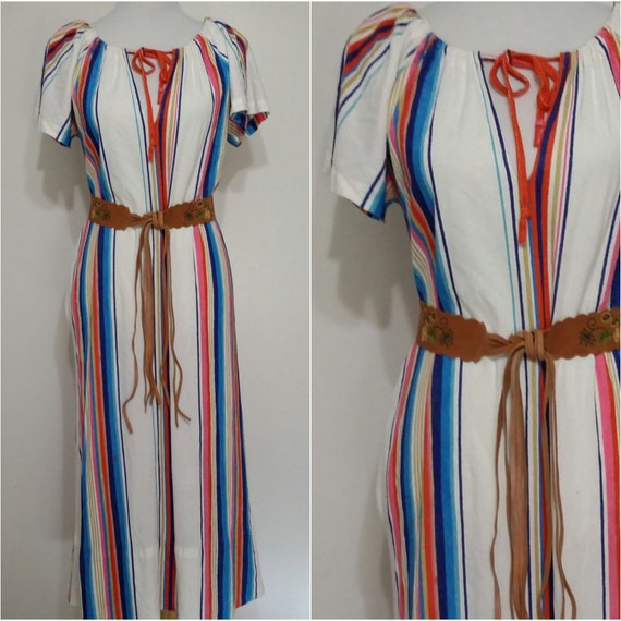84ca1fb243c28 70s dress S M 70s robe terry cloth robe terry cloth | Etsy