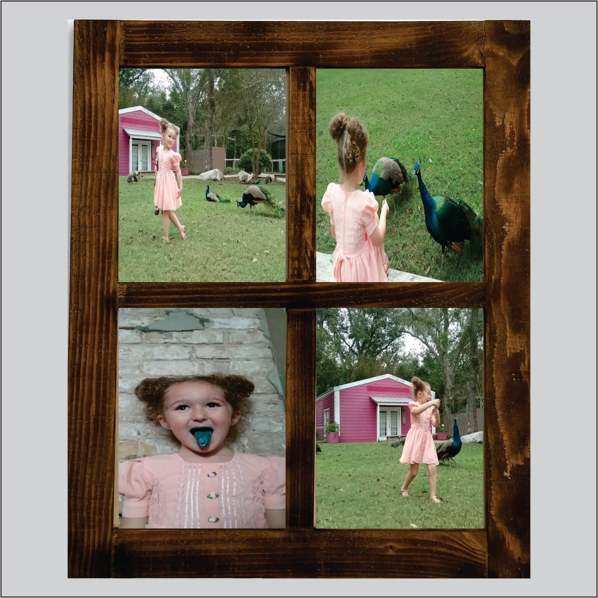 Window Sash Picture Frame 4 Lite 4x6 5x7 And 8x10 Reclaimed