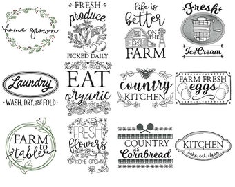 Farmhouse Sayings Etsy