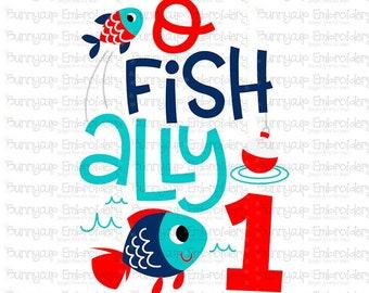Download Fishing Birthday Svg Etsy