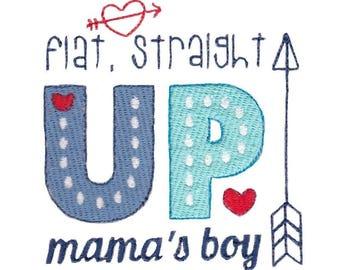 Baby Boy Sentiments Three Design 8 Filled Stitch Machine Embroidery Design 4x4 5x7