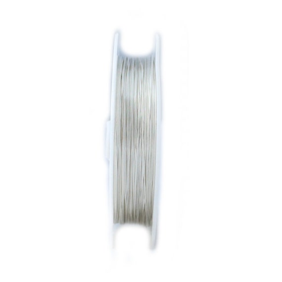 Sterling 925 silver round wire soft 16,18,20,22,24 gauge 5 10 15 feet USA MADE
