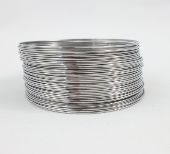 Beadalon Remembrance Memory Wire Stainless Steel 1oz BRIGHTBracelet 75coilsAprx