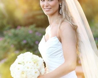 Soft Wedding Veil | Full Volume