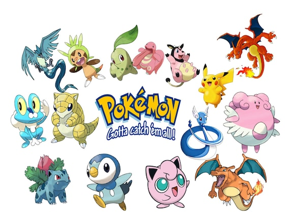Pokemon Go Image Cutout Template