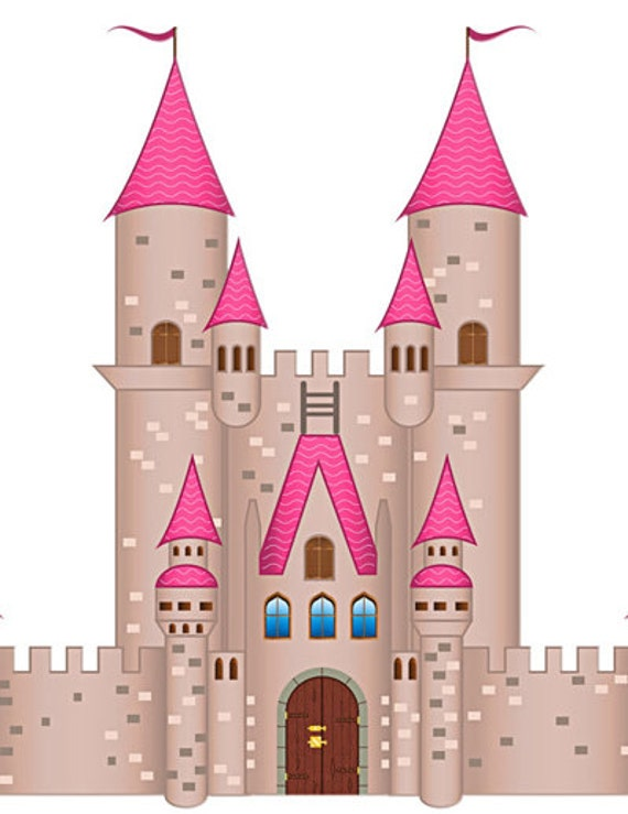 Castle Image, Castle Cutout,30 Pack, Large Cliparts, Full Page ...