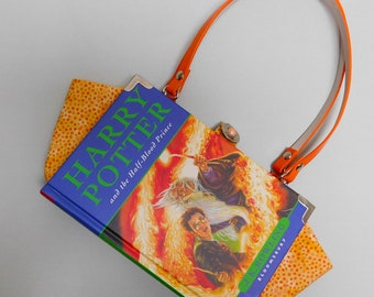 Harry Potter and the Half-Blood Prince - J.K. Rowling - Upcycled book - Bag made from a book