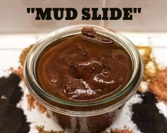 MUD SLIDE - An amazing hydrating mud mask. Removes toxins and impurities while moisturizing the skin with Kukui and Sea Buckthorn Oils.