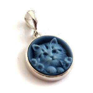 Blue cameo pendant Medusa italian cameo jewelry donadio stone cameos pendentif cam\u00e9e colgante camafeo \u30ab\u30e1\u30aa\u30da\u30f3\u30c0\u30f3\u30c8 \u041a\u0430\u043c\u0435\u044f \u043f\u043e\u0434\u0432\u0435\u0441\u043a\u0430