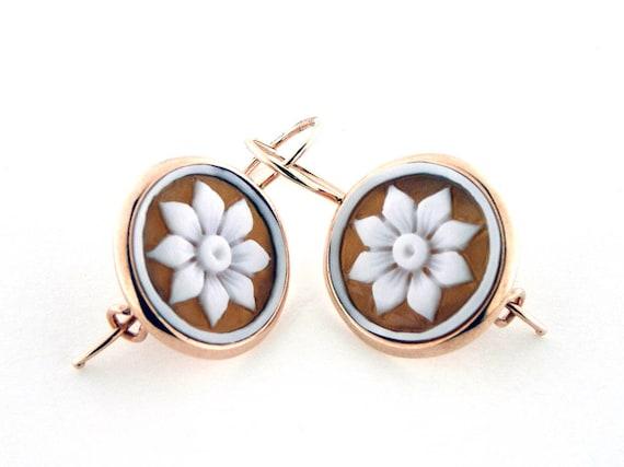 481ca8a53601 Shell cameo earrings sardonyx italian cameos jewelry donadio cameo shell  boucles d oreilles camée pendientes camafeo カメオイヤリング Камея серьги