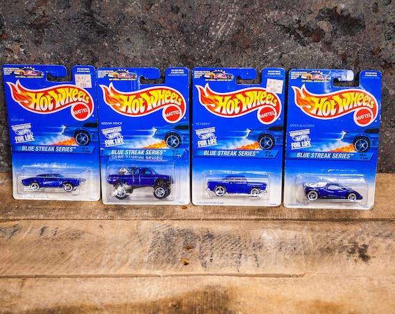 Vintage Hot Wheels 1996 Blue Streak Series Complete Set Mattel Collectable Toy Unopened Original Car Kids Man Cave