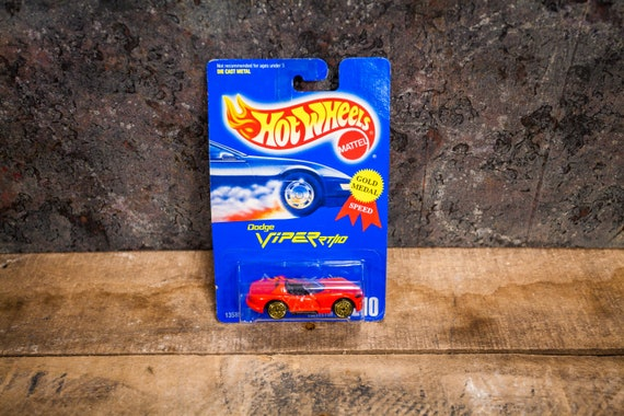 Vintage Hot Wheels 1991 Dodge Viper RT/10 Mattel Collectable Toy Unopened Original Car Kids Man Cave
