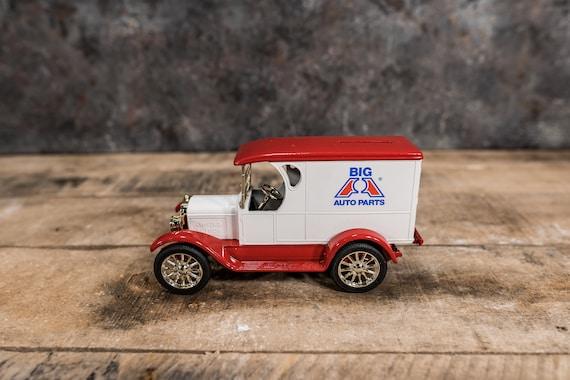 Vintage Big A Auto Parts 1923 Truck Bank Die-Cast Man Cave
