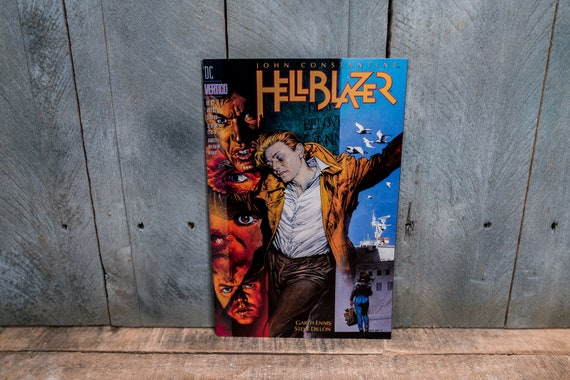 Vintage 1993 Hellblazer #67 DC Vertigo Comic Book Modern Age Super Hero Comics